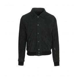 Jacket Μαύρο Δερμάτινο