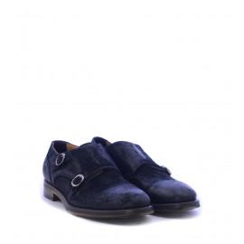 Ανδρικά παπούτσια Monk Strap σε μαύρο χρώμα