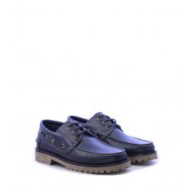 Παπούτσια ανδρικά ιστιοπλοϊκά σε μπλε χρώμα