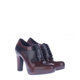 Δερμάτινα Γυναικεία Καφέ Ankle Boots