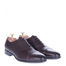 Δετά Παπούτσια Oxfords Καφέ