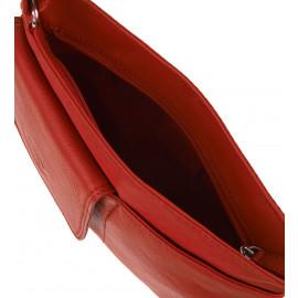Τσαντάκια Δερμάτινα Κόκκινα
