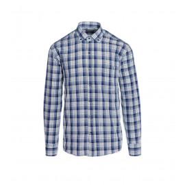 Button-Down Καρό Πουκάμισο Σε Χρώμα Μπλε