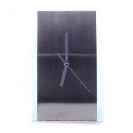 Επιτραπέζιο Ρολόι Ασημί