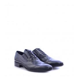 Ανδρικά Παπούτσια Μαύρα με Σχέδια