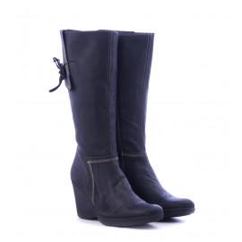Μπότες Πλατφόρμα Μαύρες