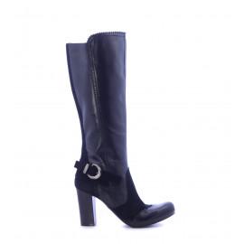 Μπότες Μαύρες Ψηλοτάκουνες