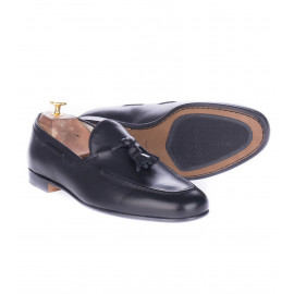Loafers με Φουντάκια Μαύρα