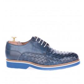 Ανδρικά Παπούτσια Πλεκτά Μπλε